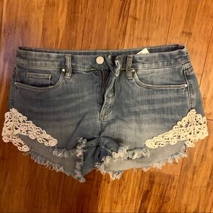Gray by Saks Fifth Avenue Jean shorts